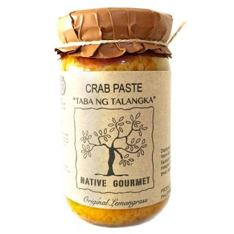 Harga Native Gourmet Crab Paste Original Lemongrass 8oz (Taba ng Talangka)