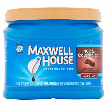 Harga Maxwell House Medium Colombian Ground Coffee 694g