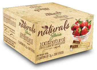Naturals Stevia 100% Natural Zero Calorie Sweetener 300 x 2g Sticks Price Philippines
