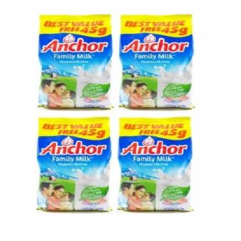 Anchor Family Milk 655g - Set of 4 Price Philippines