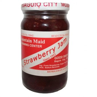 Harga Good Shepherd Strawberry Jam 8oz (Clear/Red)
