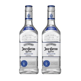 Harga Jose Cuervo Tequila Silver Blue Agave (700ml) with Free Gift Box - Set of 2