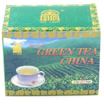 Harga Jin Ling China Green Tea (40g)