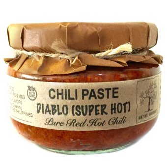 Harga Native Gourmet Diablo Chili Paste Super Hot! 4oz