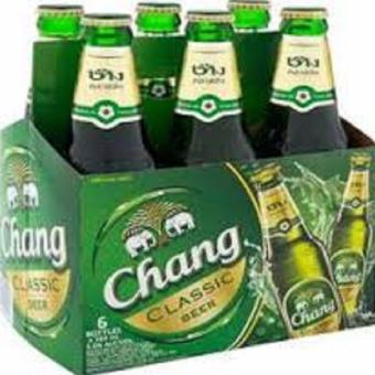 Harga Chang Thai Lager Beer from Thailand 6x320ml