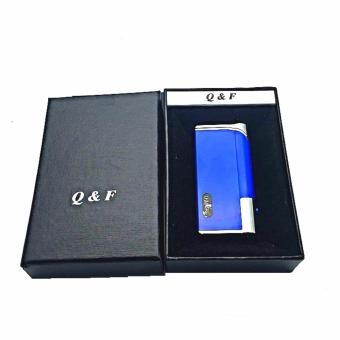 Harga QF-1203 Windproof Lighter with box (blue)