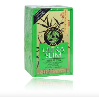 TRIPLE LEAF TEA ULTRA SLIM TEA DECAFFEINATED - 20 TEA BAGS Price Philippines