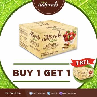 BUY 1 TAKE 1 Naturals Stevia 100% Natural Zero Calorie Sweetener 300 x 2g Sticks Price Philippines