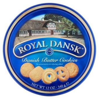 Harga Royal Dansk Danish Butter Cookies 340g