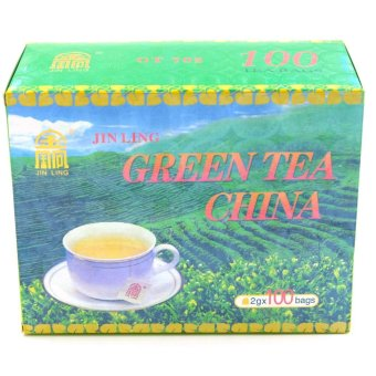Harga Jin Ling China Green Tea (200g)