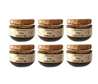 Harga Native Gourmet Chili Garlic Oil 4oz (Set of 6)