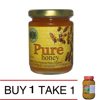Natural Pure Raw Honey (200 ml) Get 1 Natural Turmeric Tea Price Philippines