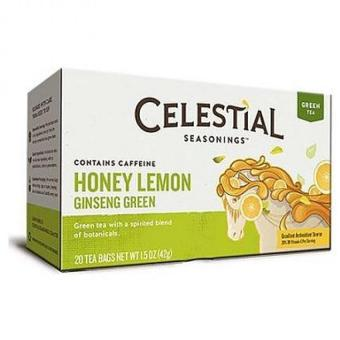 Harga Celestial Seasonings Honey Lemon Ginseng Green Tea 42g Set Of 2