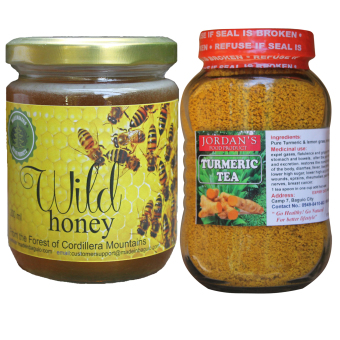 Harga Natural Wild Honey Bundled with Natural Turmeric Tea