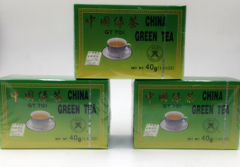 Harga China green tea set of 6