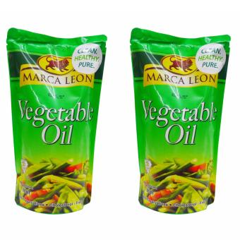Harga Marca Leon Vegetable Oil 1 liter 555317 2's