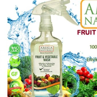 Harga AMALA Naturals Fruit & Vegetables Wash 500ml