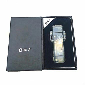 Harga QF-265 Windproof Lighter with box (black)