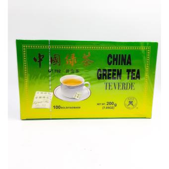 Harga China Green tea 100 teabags
