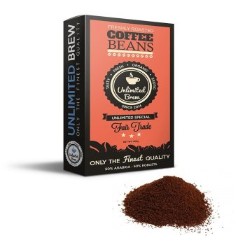 Unlimited Brew Special Ground Coffee Beans (Orange) Price Philippines