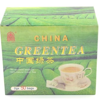 Harga Jin Ling China Green Tea (100g)