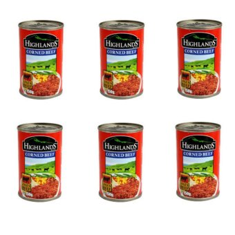 Harga Highlands Corned Beef 150g Set of 6