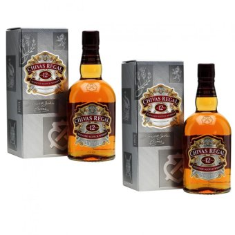 Harga Chivas Regal 12 Year Old Blended Scotch Whisky (70cl, 40.0%) Pack of 2