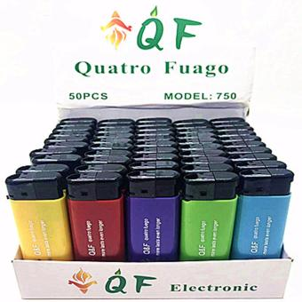 Harga QF Disposable Lighter Box of 50pcs