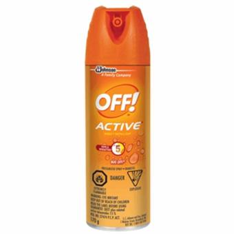 Harga Off Insect Repellent Active 170g