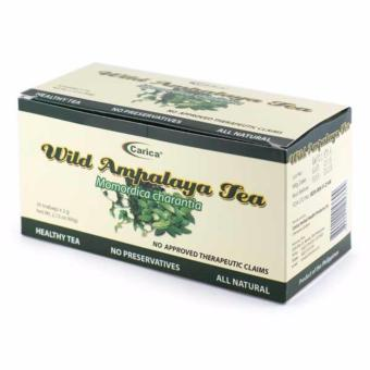 Carica Ampalaya / Bitter Gourd / Bitter Melon Tea - Box of 30 Tea bags (2g per tea bag) Price Philippines