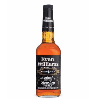 EVAN WILLIAMS BLACK KENTUCKY STRAIGHT BOURBON 750ml Price Philippines
