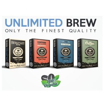 Unlimited Brew Coffee Beans Package 4-piece Set (Ground Coffee Beans) Price Philippines
