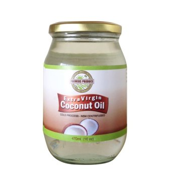 Harga Farmers Produce Virgin Coconut Oil 16oz (473ml) Export quality - Cold pressed