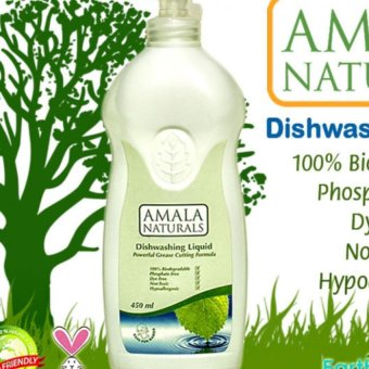 Harga Amala Naturals Dishwashing Liquid 450ml