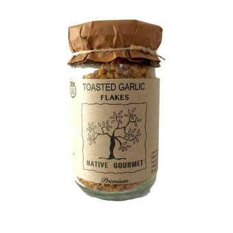 Harga Native Gourmet Toasted Garlic Flakes 8oz