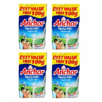 Anchor Family Milk 900g - Set of 4 Price Philippines