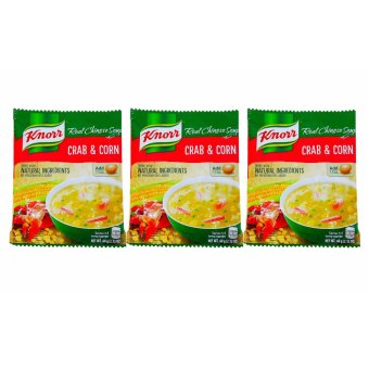 Harga Knorr Real Chinese Soup Crab & Corn 60g 210957 3's