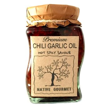 Harga Native Gourmet Chili Garlic Oil 8oz