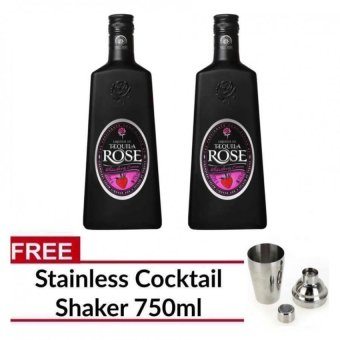 Harga Tequila Rose Liqueur 700ml (Set of 2) with FREE Cocktail Shaker 750ml