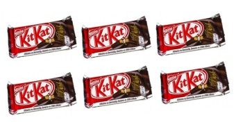 Harga Nestle Kit Kat 4F Dark 41.5g - Set of 6