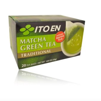 ITO EN Matcha Green Tea Traditional 20bags with FREE RubberBracelet LED Digital Wrist Watch (Color may vary)