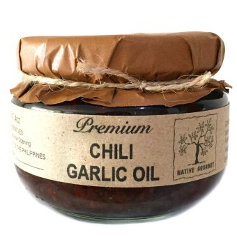 Native Gourmet Chili Garlic Oil 4oz