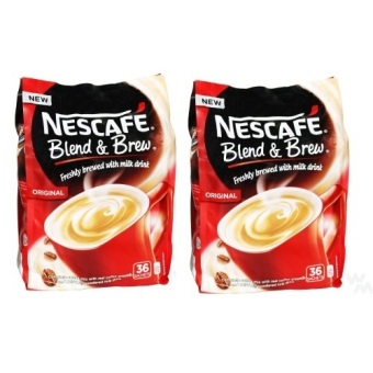 Nescafe Blend and Brew Original 20g (30pcs) Pack - Set of 2