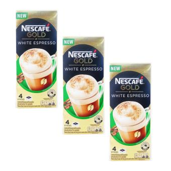 Nescafe Gold White Expresso 25gx4sticks 3's (Cream) 079557 w45 (LP)
