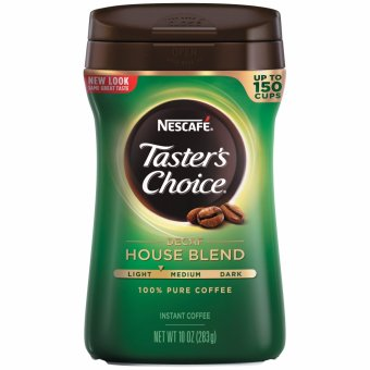 Nescafe Taster's Choice Regular Instant Decaf, 10 oz.