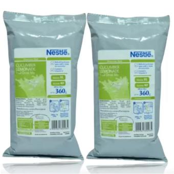 NESTLE Cucumber Lemonade Fruit Drink Mix 360grams (SET OF 2)