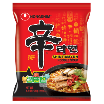 NongShim Shin Ramen Multi 120g x 5pc Pack Price Philippines