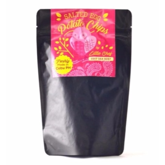 Salted Egg Potato Chips 100gms pouch