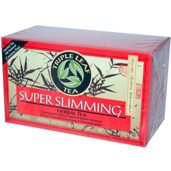 Triple Leaf Tea Super Slimming Caffeine-Free 20 Tea Bags