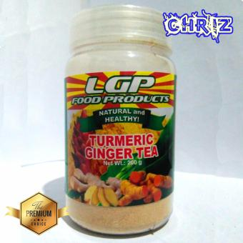 Turmeric Ginger Tea Bottle 200 grams